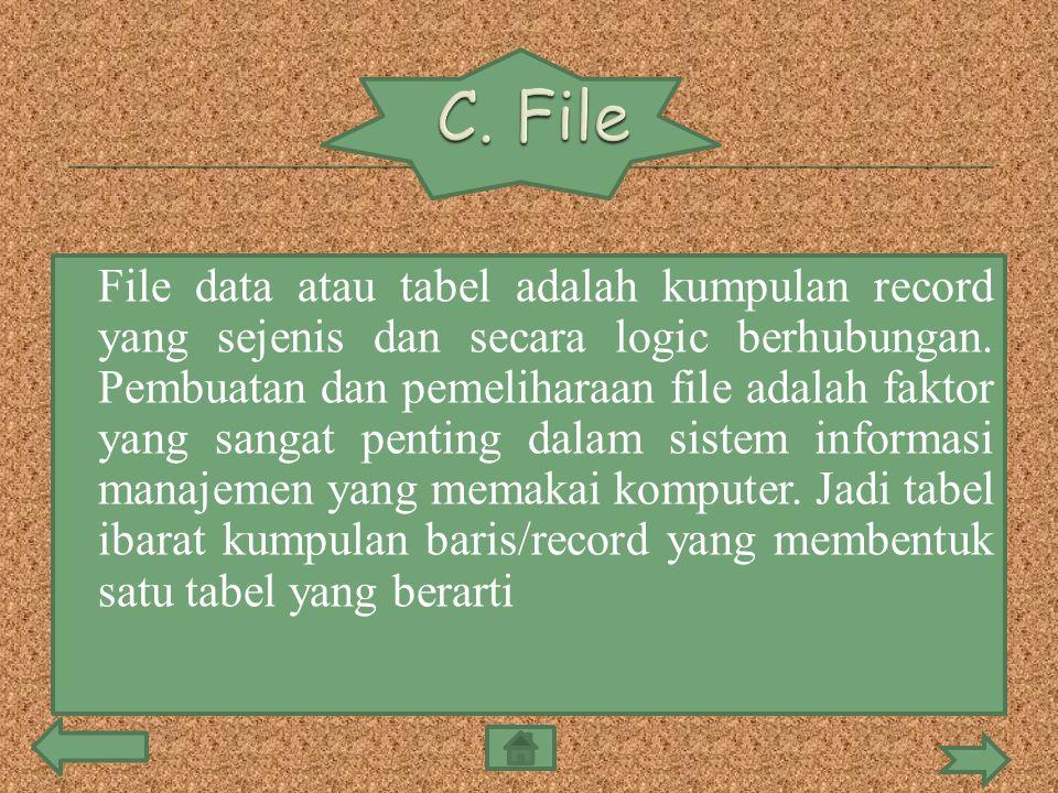 C. File