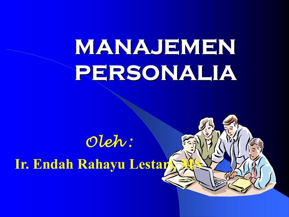 Ir. Endah Rahayu Lestari, MS