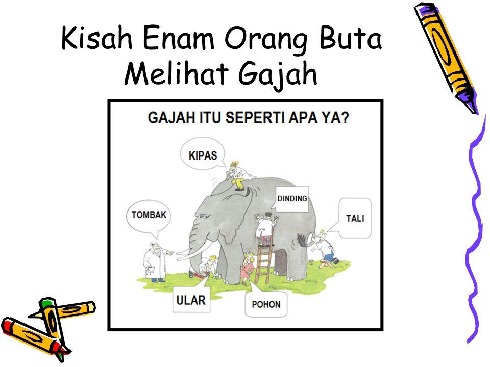 Kisah Enam Orang Buta Melihat Gajah