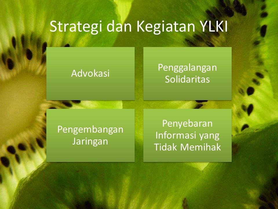 Strategi dan Kegiatan YLKI