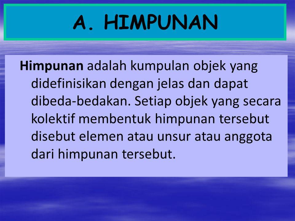 A. HIMPUNAN