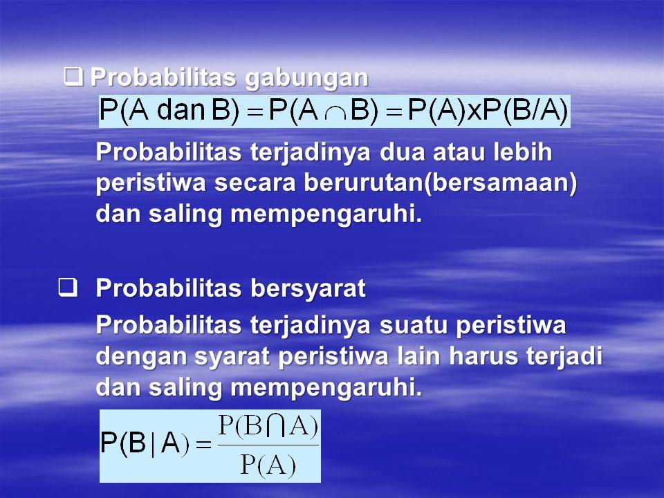Probabilitas gabungan