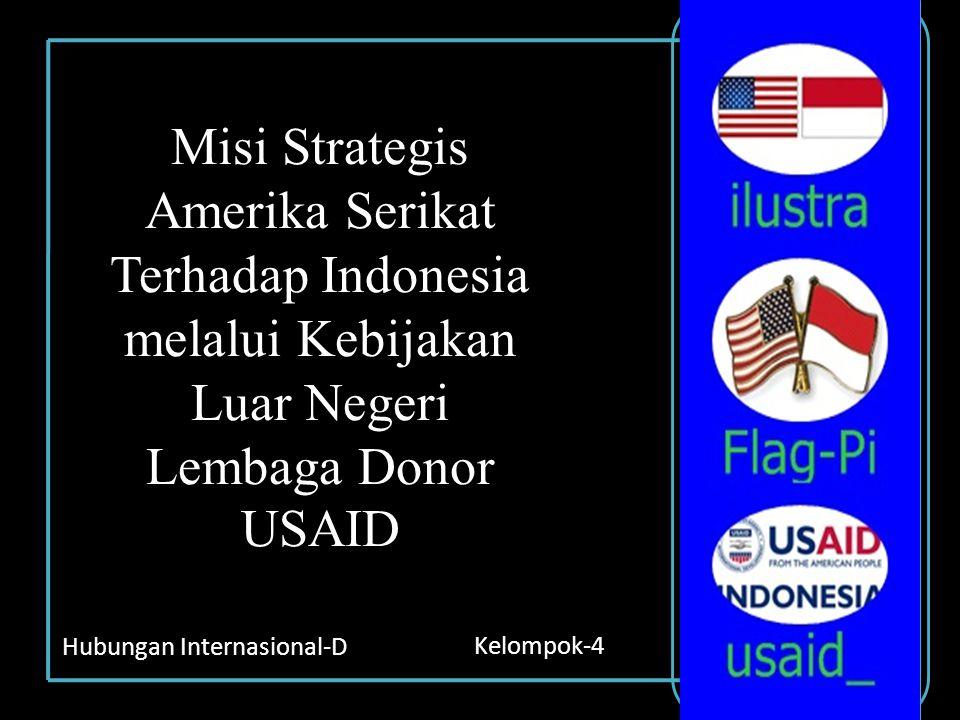 Misi Strategis Amerika Serikat Terhadap Indonesia melalui Kebijakan Luar Negeri Lembaga Donor USAID