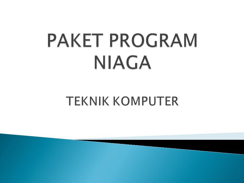 PAKET PROGRAM NIAGA TEKNIK KOMPUTER