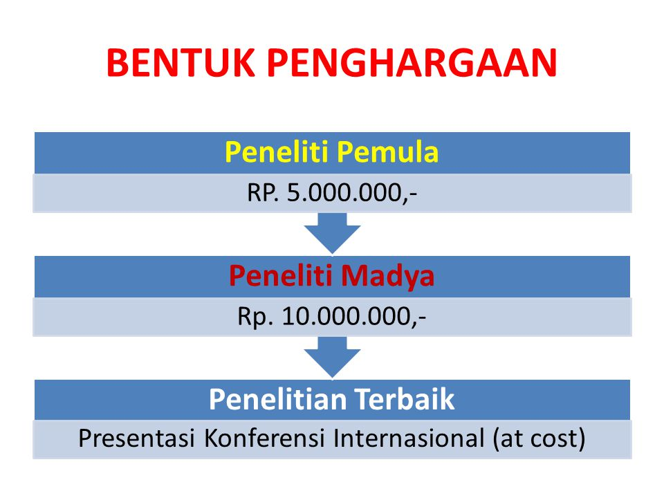 Presentasi Konferensi Internasional (at cost)