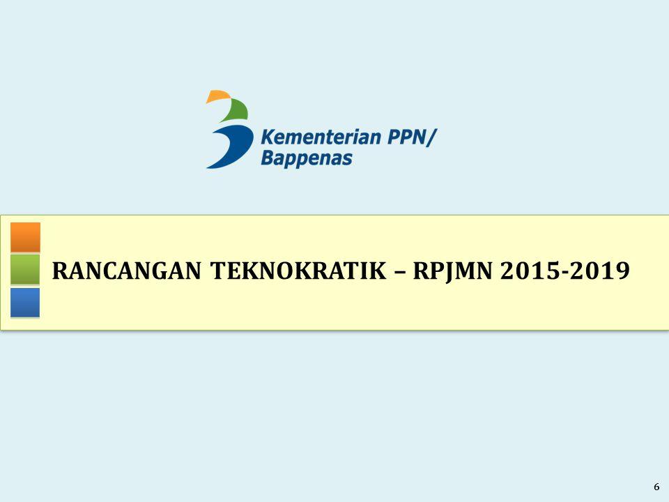 RANCANGAN TEKNOKRATIK – RPJMN 2015-2019