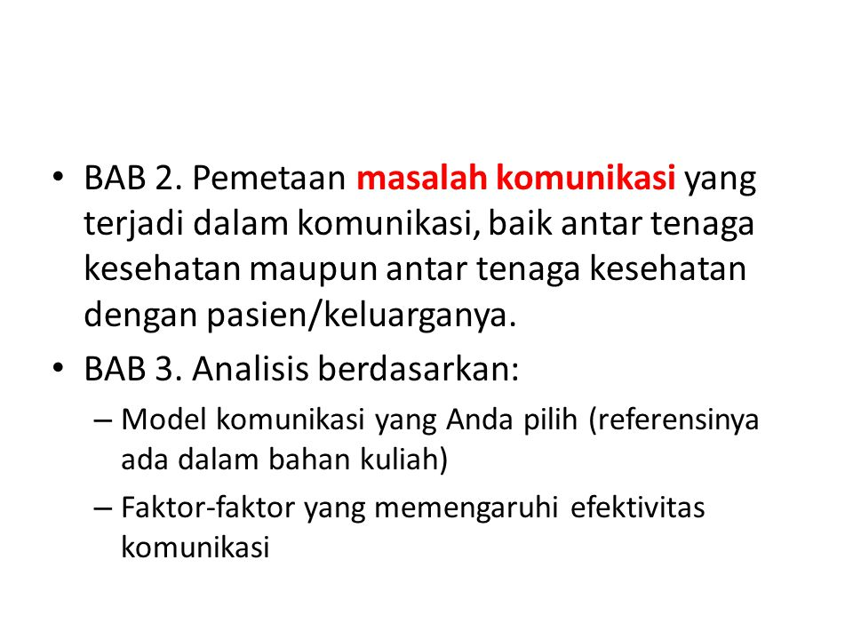 BAB 3. Analisis berdasarkan: