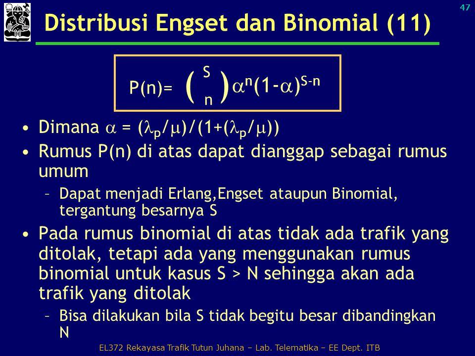 Distribusi Engset dan Binomial (11)