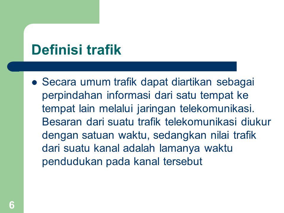Definisi trafik