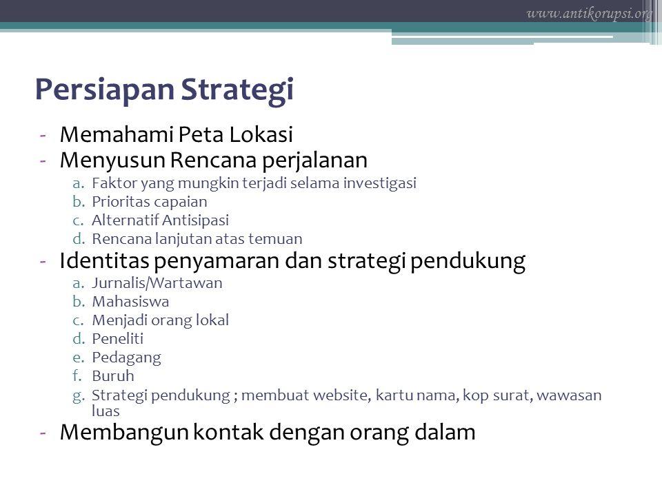 Persiapan Strategi Memahami Peta Lokasi Menyusun Rencana perjalanan