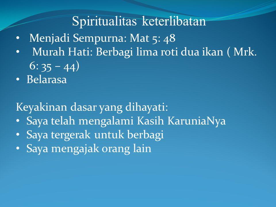 Spiritualitas keterlibatan