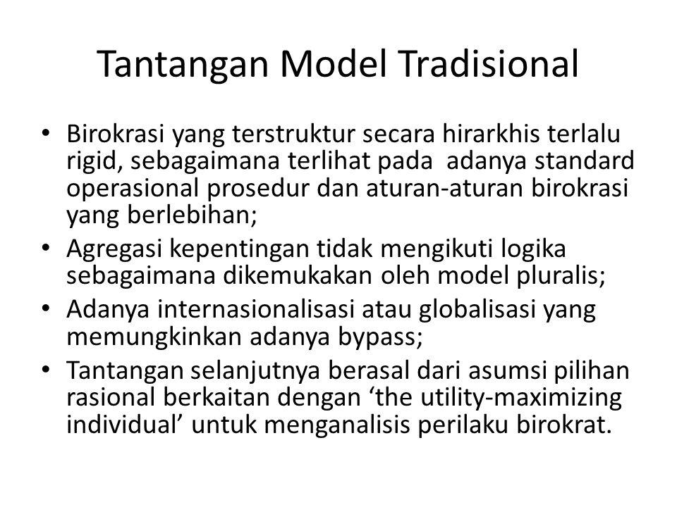 Tantangan Model Tradisional