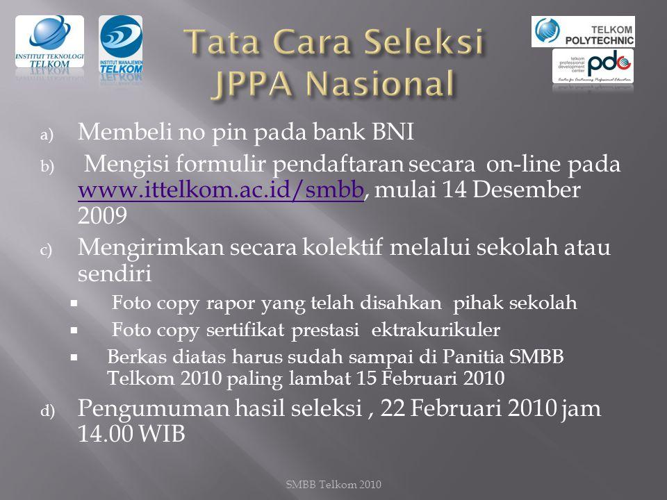 Tata Cara Seleksi JPPA Nasional