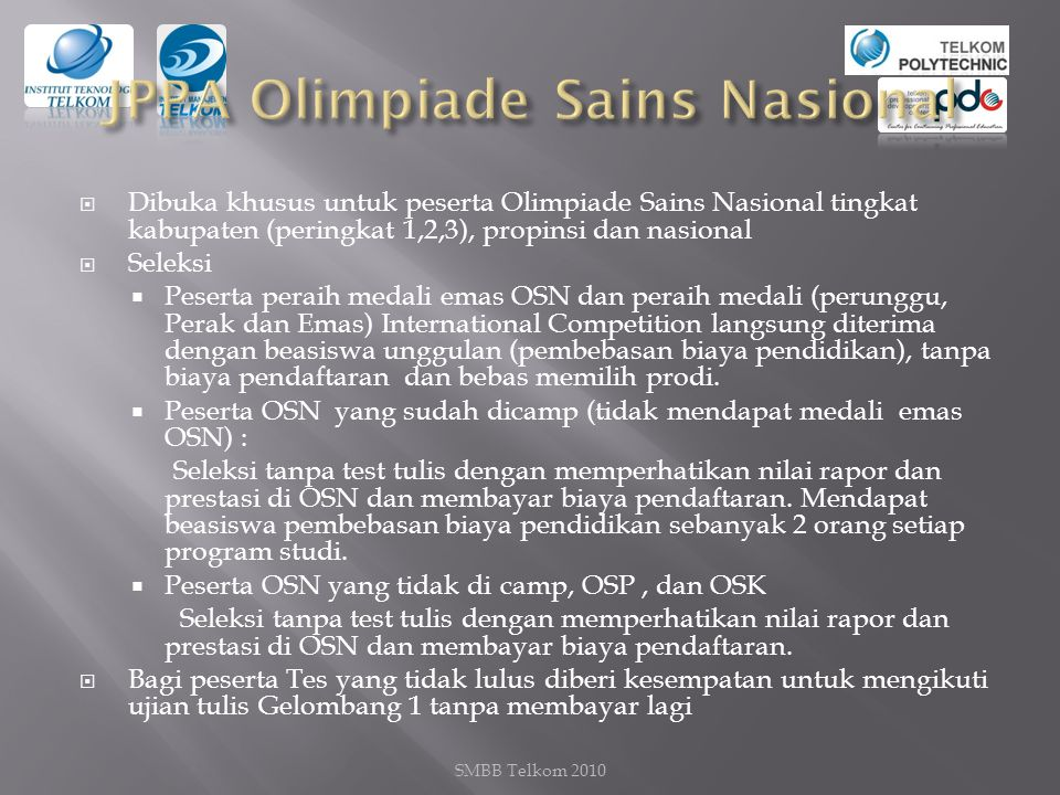 JPPA Olimpiade Sains Nasional