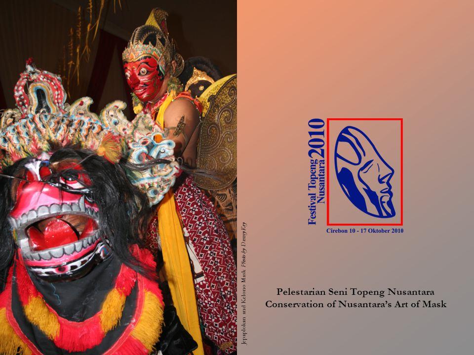 Jepaplokan and Kelono Mask Photo by Denny Key