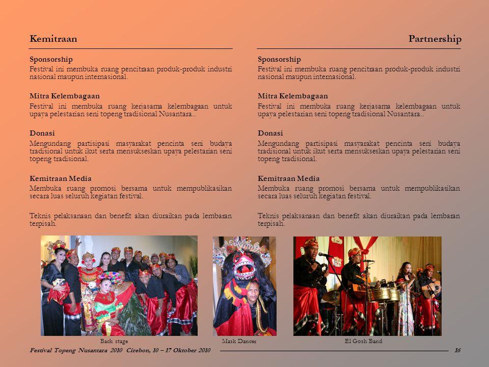 Kemitraan Partnership Sponsorship