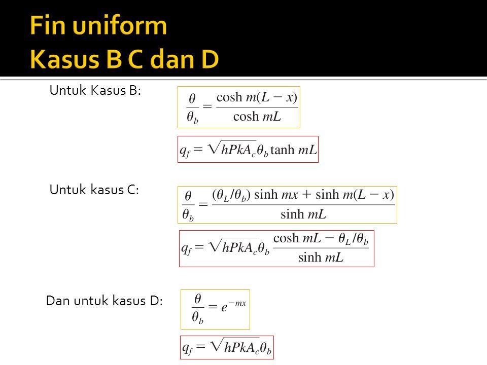 Fin uniform Kasus B C dan D