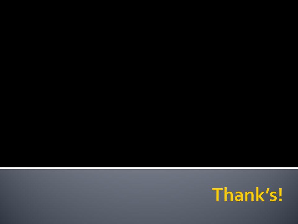 Thank's!