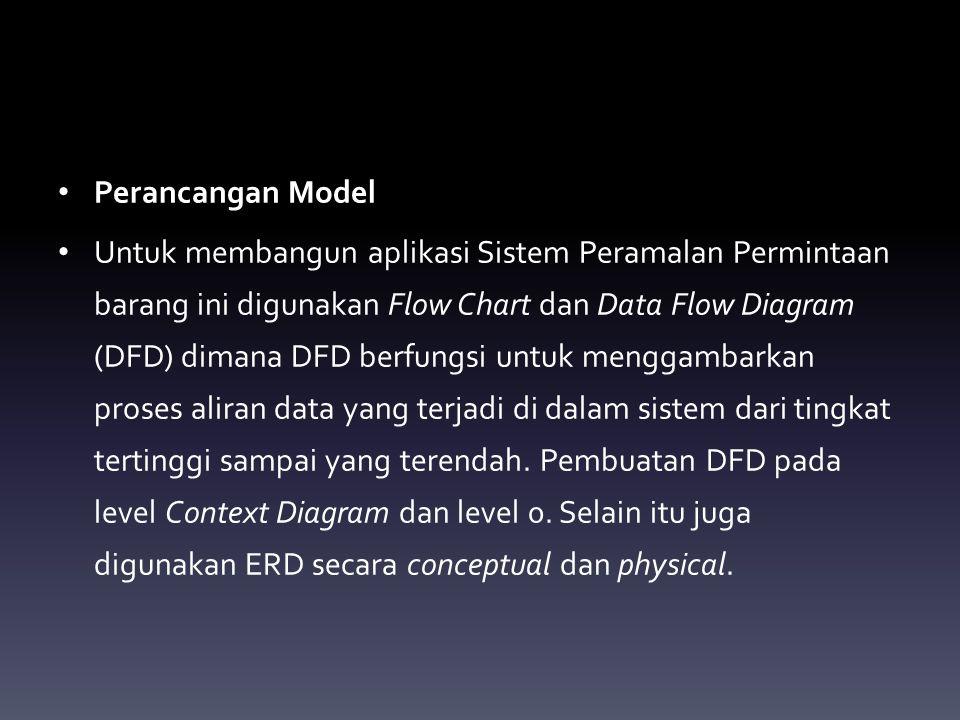 Perancangan Model