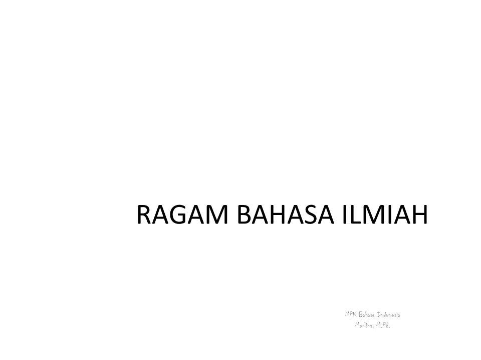 MPK Bahasa Indonesia Marlina, M.Pd.