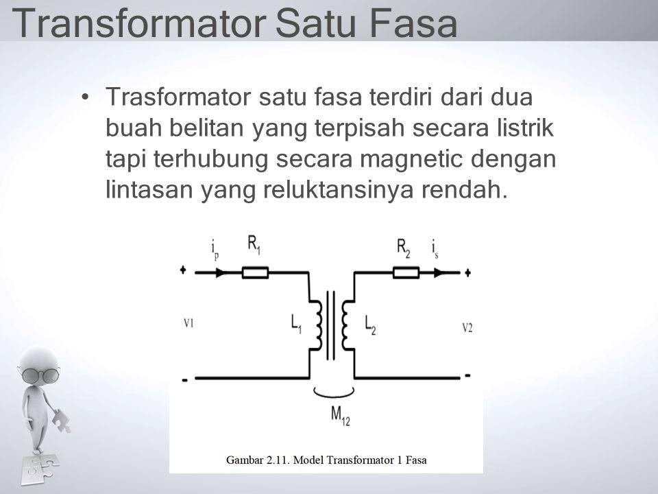 Transformator Satu Fasa