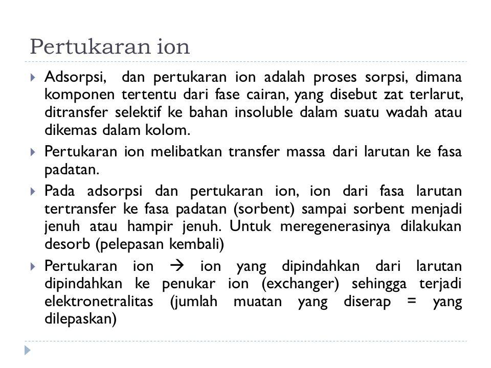 Pertukaran ion