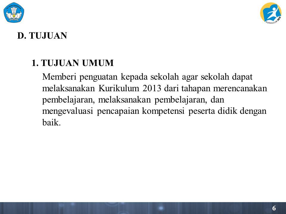 D. TUJUAN 1.