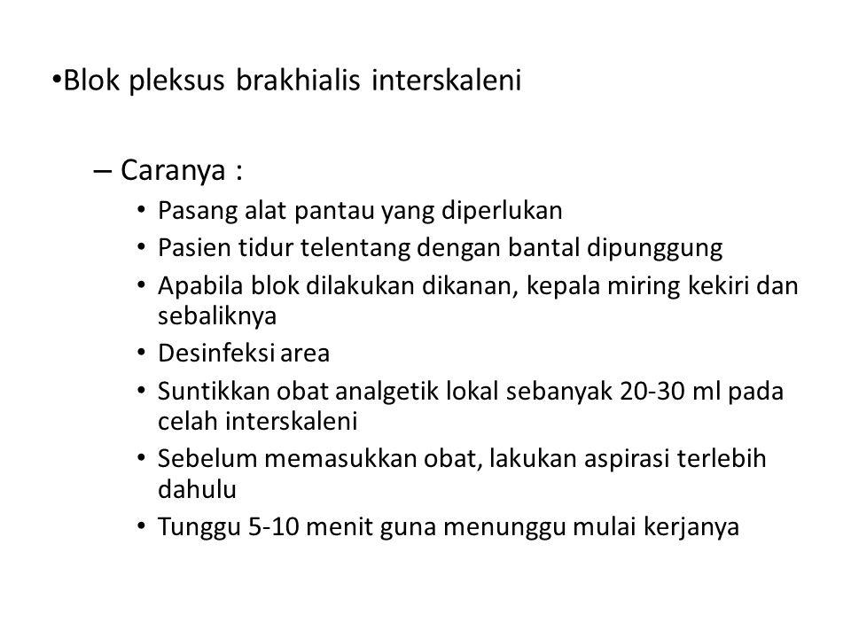 Blok pleksus brakhialis interskaleni