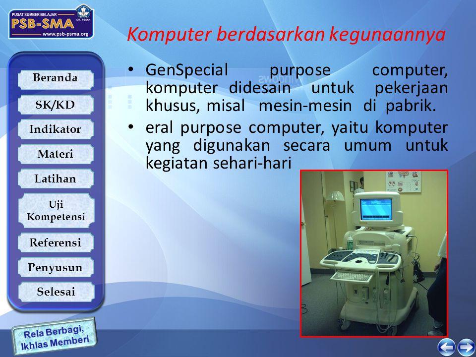 Komputer berdasarkan kegunaannya