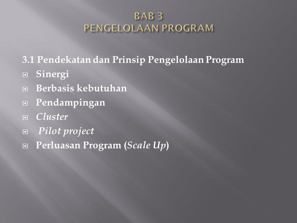 BAB 3 PENGELOLAAN PROGRAM