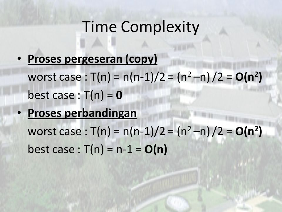 Time Complexity Proses pergeseran (copy)