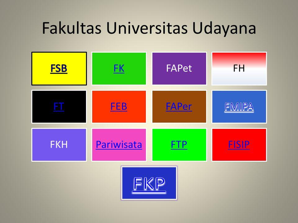 Fakultas Universitas Udayana
