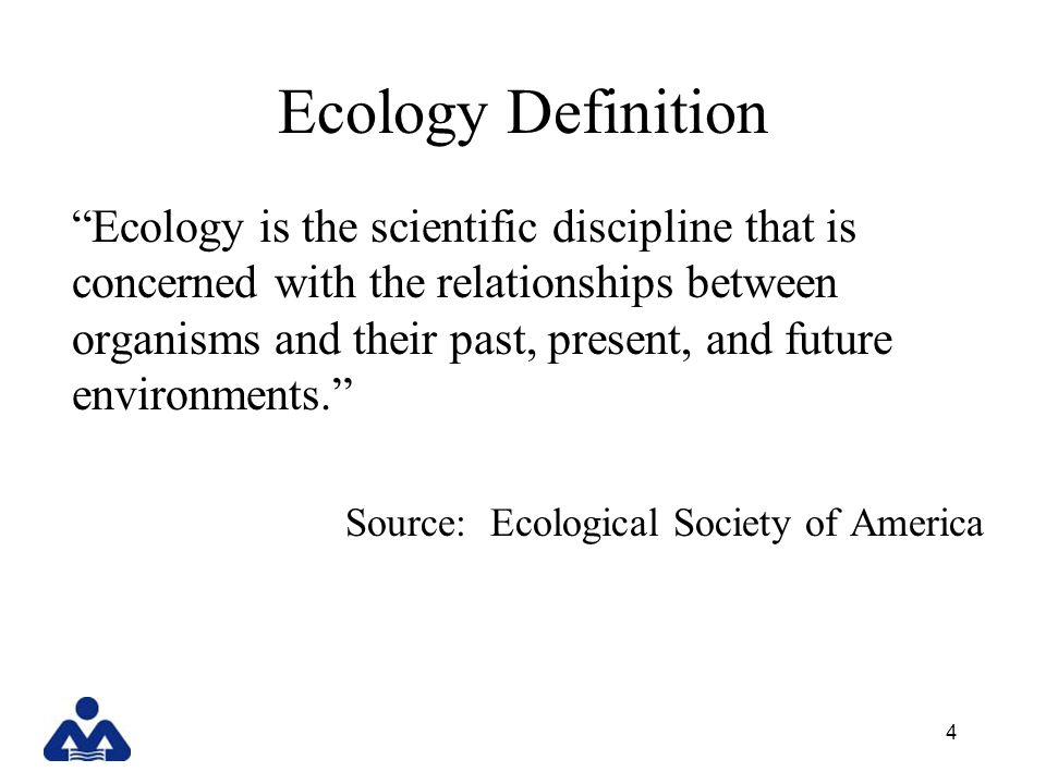 Ecology Definition