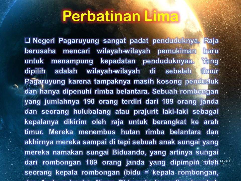 Perbatinan Lima