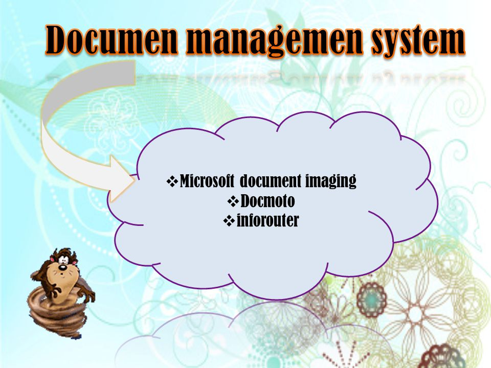 Documen managemen system