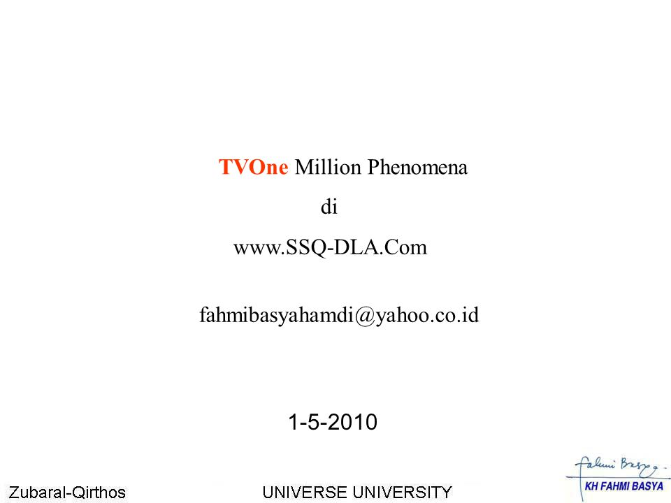 TVOne Million Phenomena