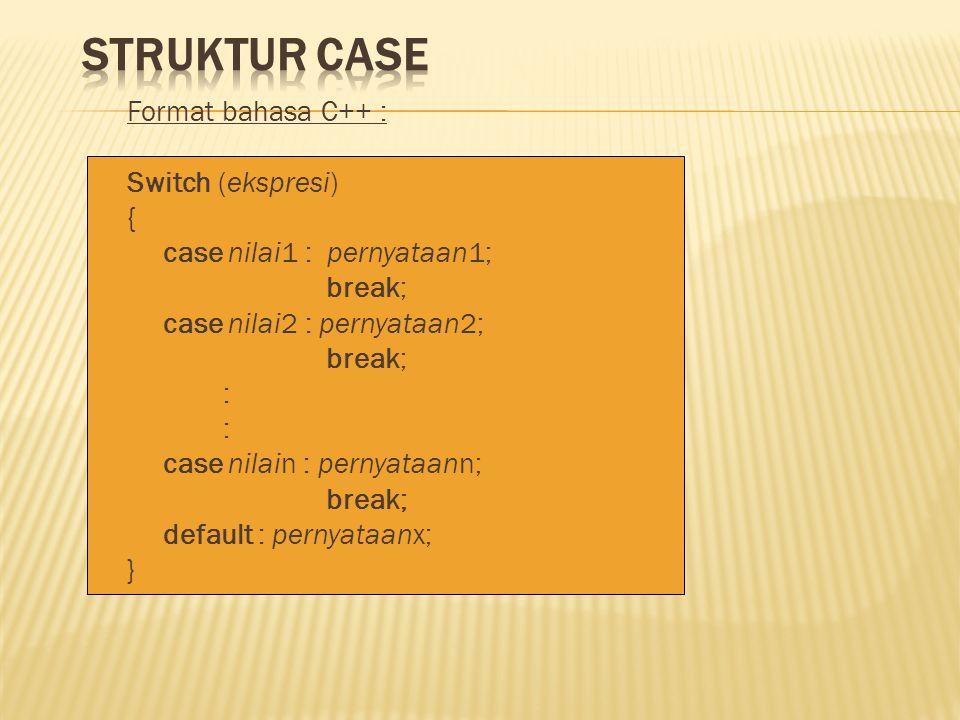 Struktur Case