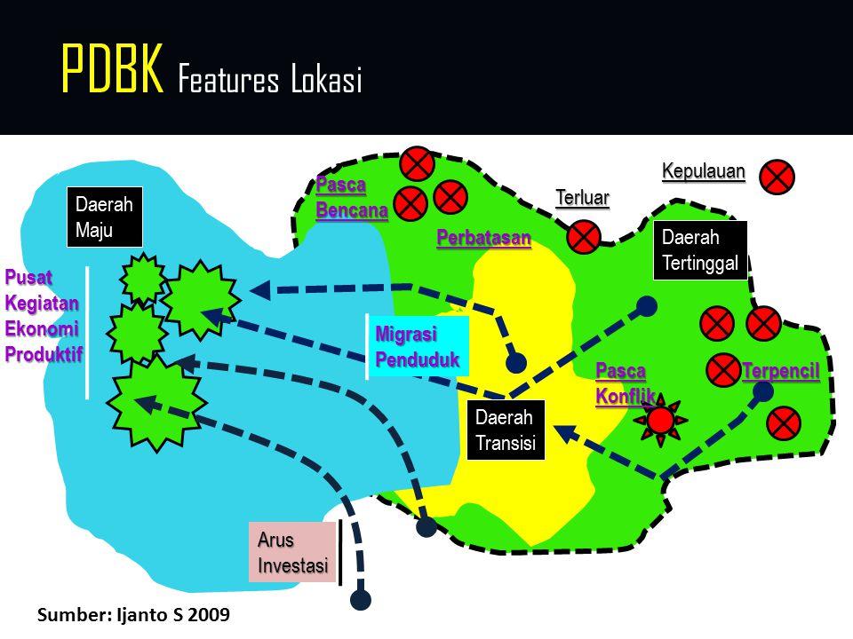 PDBK Features Lokasi Kepulauan Pasca Bencana Terluar Daerah Maju