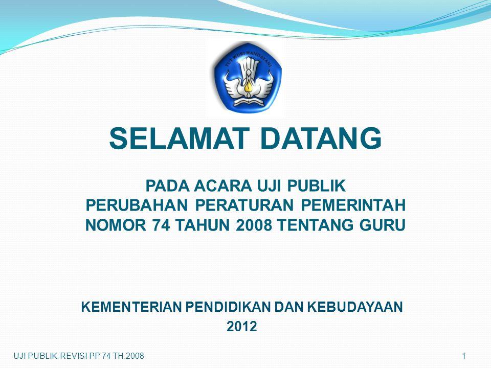 KEMENTERIAN PENDIDIKAN DAN KEBUDAYAAN 2012