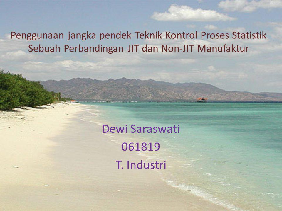 Dewi Saraswati 061819 T. Industri