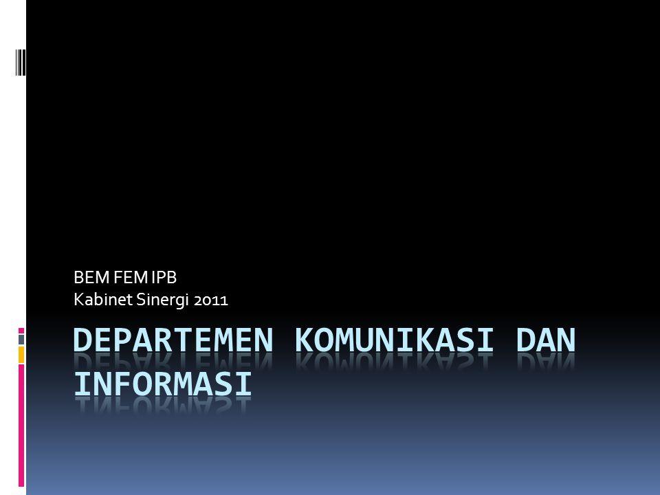 Departemen Komunikasi dan Informasi