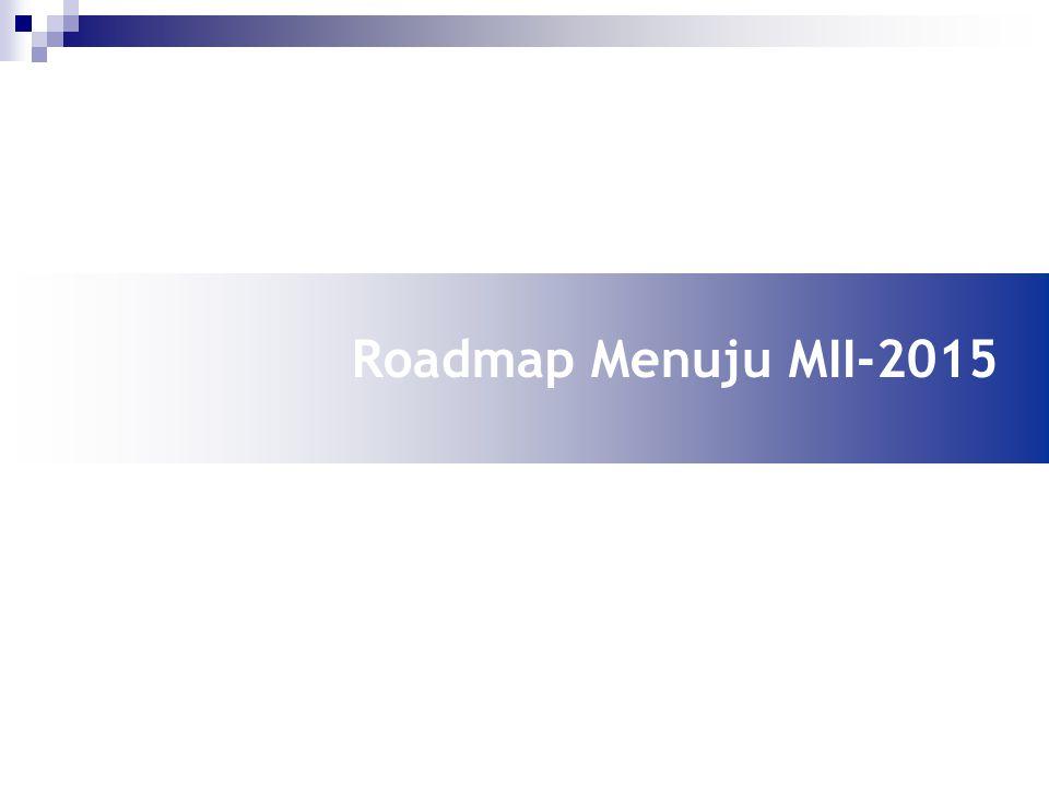 Roadmap Menuju MII-2015