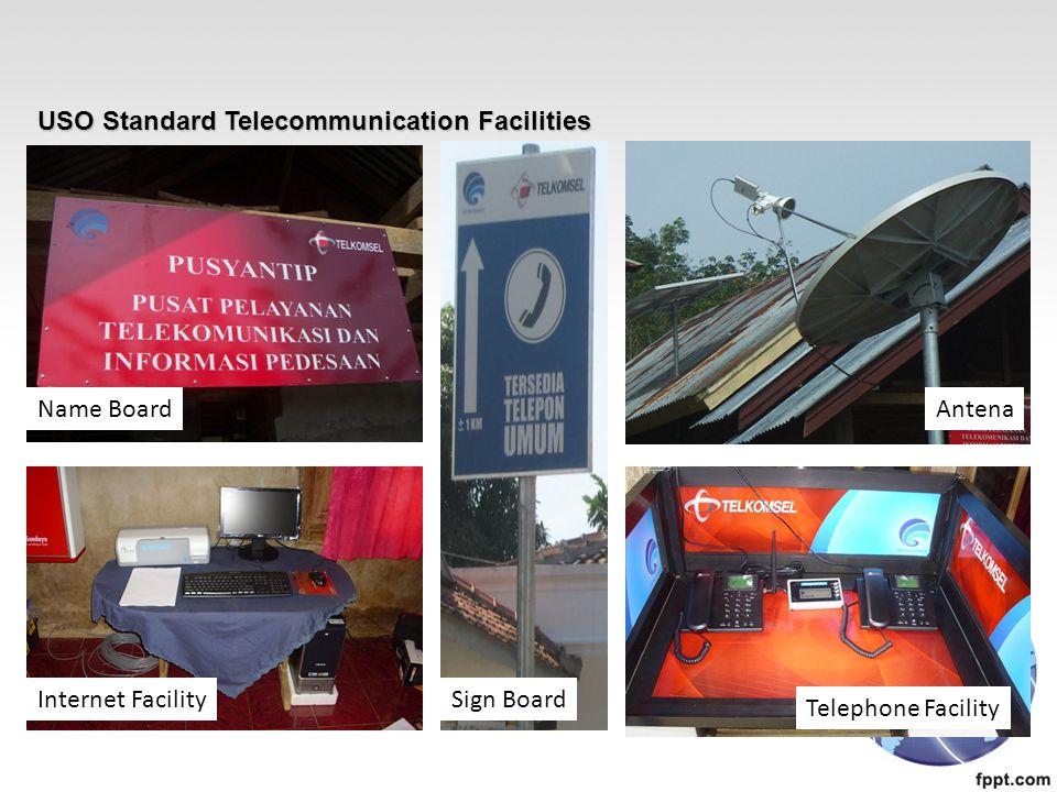 USO Standard Telecommunication Facilities