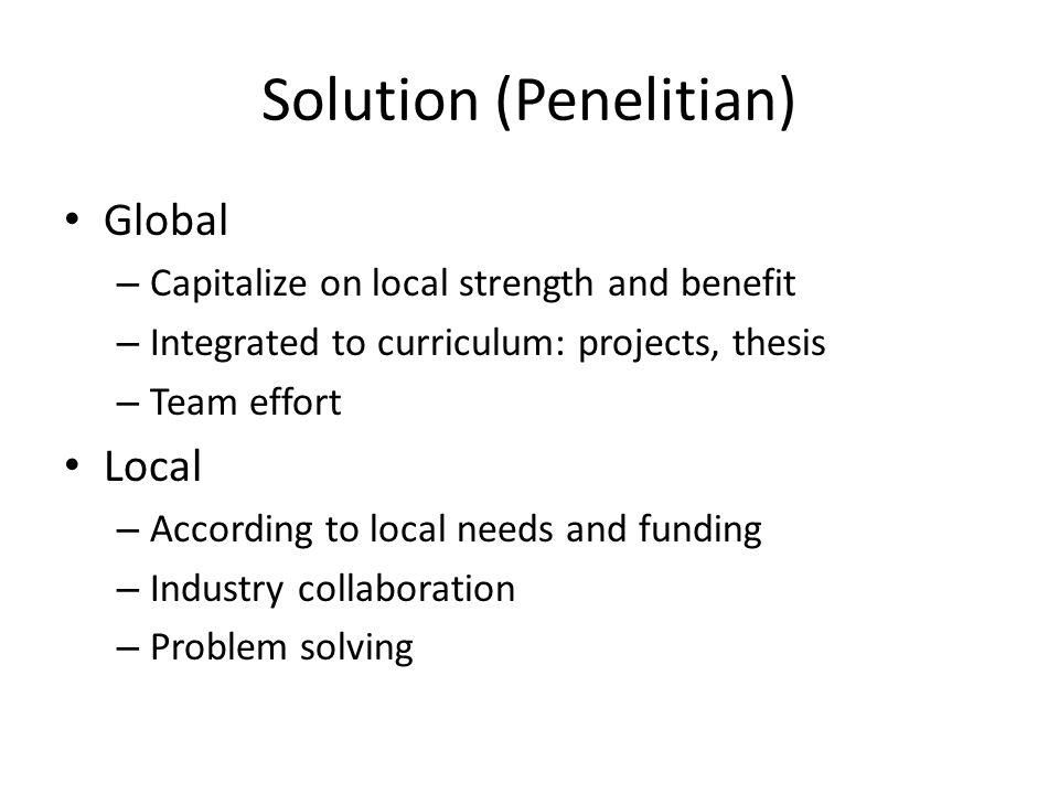 Solution (Penelitian)