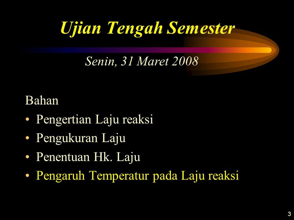 Ujian Tengah Semester Senin, 31 Maret 2008 Bahan