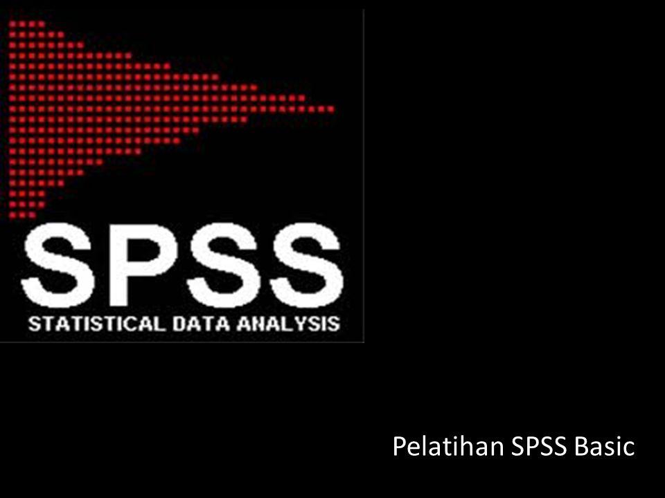 Pelatihan SPSS Basic