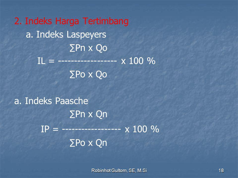 IP = ------------------ x 100 %