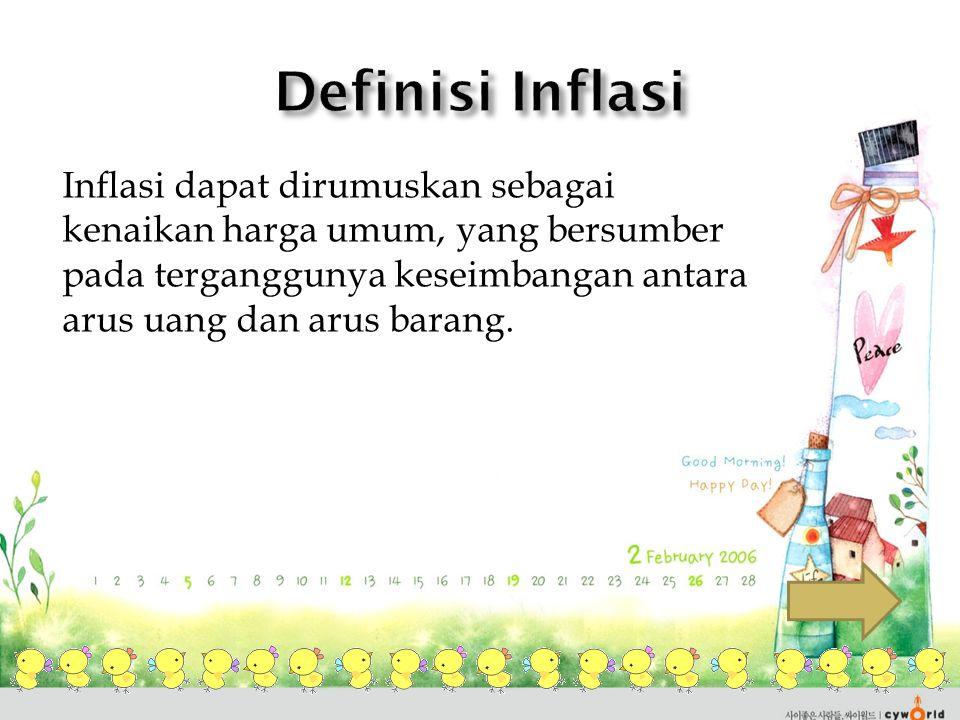 Definisi Inflasi