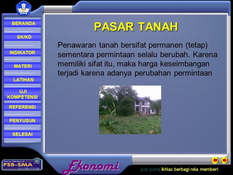 PASAR TANAH