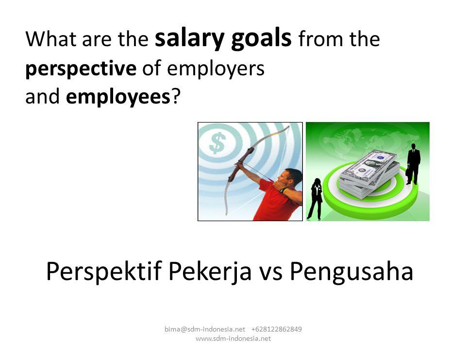Perspektif Pekerja vs Pengusaha